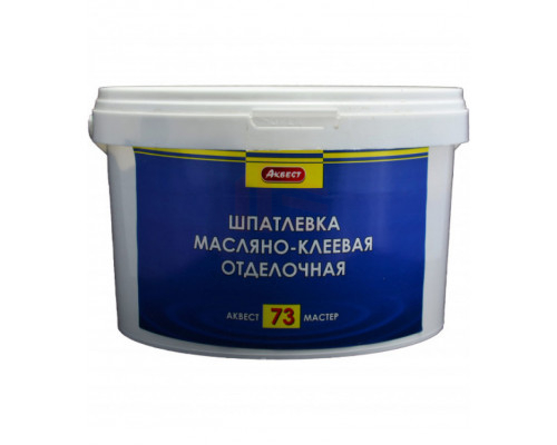 Аквест (Akvest) А-73 МАСТЕР Шпатлевка масляно-клеевая (25 кг)