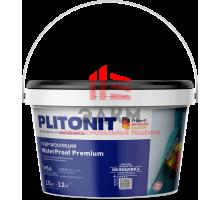 PLITONIT WaterProof Premium универсальная однокомпонентная быстротвердеющая эластичная гидроизоляционная мастика 10 кг