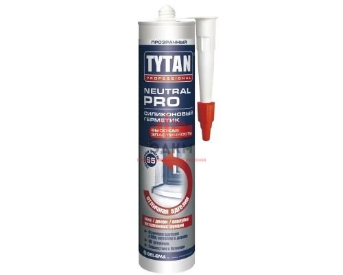"""Герметик силиконовый универсальный """"TYTAN Professional"""", бесцветный, 280 мл /71491"""