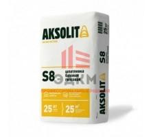 Шпатлевка базовая гипсовая AKSOLIT S8