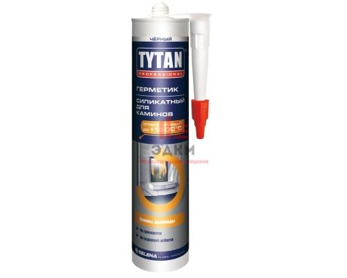 """Герметик для каминов """"TYTAN Professional"""", черный, 310 мл / 20300"""