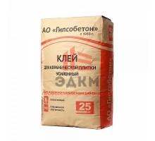 (Гипсобетон) Клей усиленный для керамической плитки, мешок 25 кг
