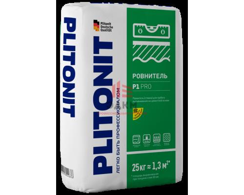 PLITONIT Р1 pro ровнитель высокопрочный для грубого выравнивания 25 кг