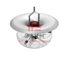 V-FloFan вертикальный вентилятор рециркуляции воздуха в теплице