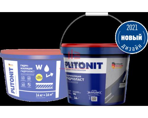 PLITONIT ГидроЭласт 2К (сух.) гидроизоляция двухкомпонентная 25 кг