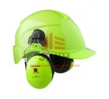 Противошумные наушники 3М™ Peltor™ Optime™ III повышенной видимости с креплением на каску