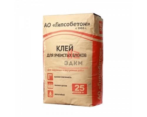 (Гипсобетон) Клей для ячеистых блоков, мешок 25 кг