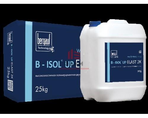 Гидроизоляция эластичная полимерцементная однокомпонентная B - Isol Up Elast 1K, 25 кг