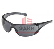 Открытые защитные очки, серые, с покрытием против царапин