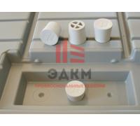 Резиновая заглушка и ремонтный уголок