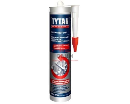 """Герметик высокотемпературный 280 мл, красный """"TYTAN Professional"""" силиконовый"""